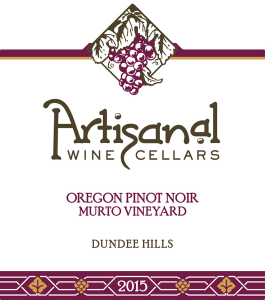 2015 Murto Vineyard Pinot Noir