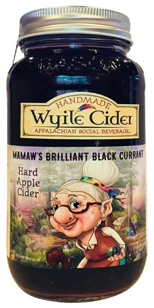 Black Currant Hard Cider