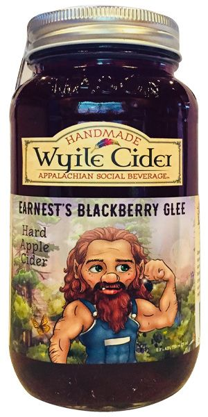 Blackberry Hard Cider