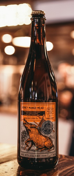 Product Image for 2020 Honey Mango Mead Wine