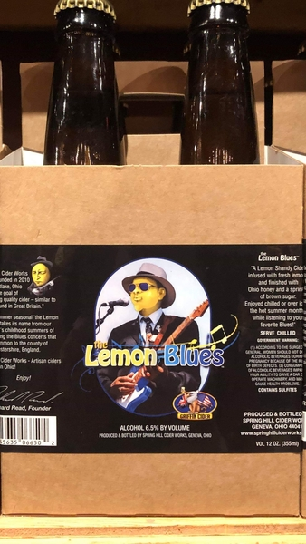 Product Image - 2018 Griffin's LemonBlues Hard Cider