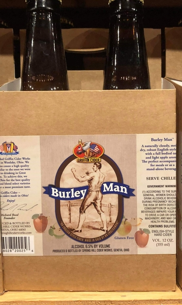 Product Image - 2018 Griffin's Burley Man Hard Cider