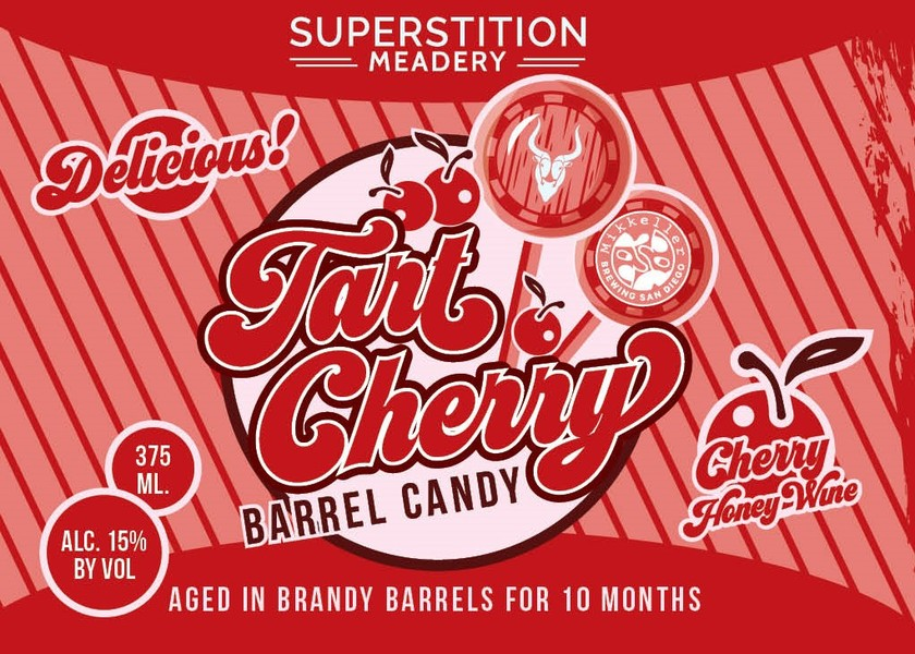 Product Image for 2019 Tart Cherry Barrel Candy